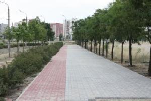 Тротуар в Южном микрорайоне будут ремонтировать еще два месяца