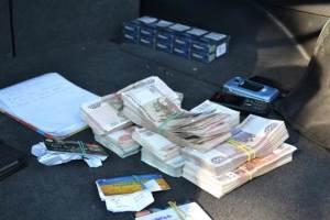 В СБУ обнародовали видео задержания машины с деньгами для оккупированных территорий Донбасса