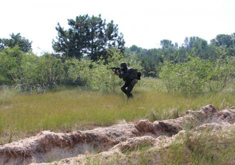 В Запорожской области прошли учения бойцов Нацгвардии