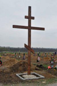 В Запорожье  планируют установить на кладбище памятный знак погибшим бойцам АТО