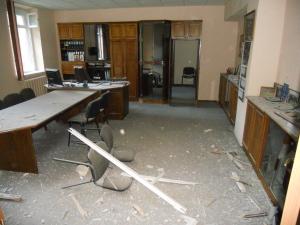 Налоговую инспекцию в Полтавской области обстреляли из гранатомета