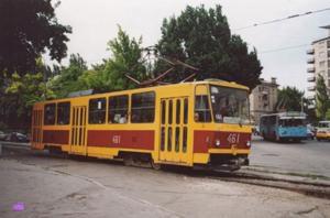В Запорожье будет приостановлено движение трамваев по 3 маршруту