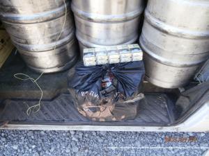 Тысячу литров алкоголя вез террористам задержанный водитель маршрутки
