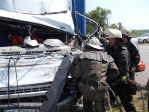 На запорожской трассе ДТП с тремя пострадавшими