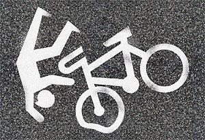 В Каменке–Днепровской мотоциклист скрылся с места ДТП