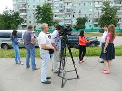 В Запорожье прорвало коллектор, который обслуживает Правый берег города