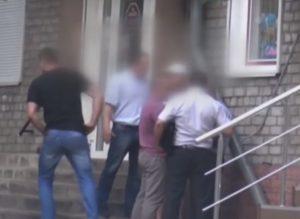 В СБУ обнародовали видео задержания запорожского налоговика