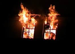 В Запорожской области при пожаре в жилом доме пострадал человек