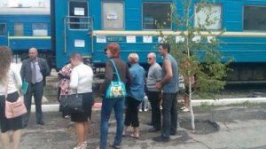 В «Укрзалізниці» отреагировали на протест запорожских проводников