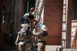 В Запорожье на пожаре спасен ребенок