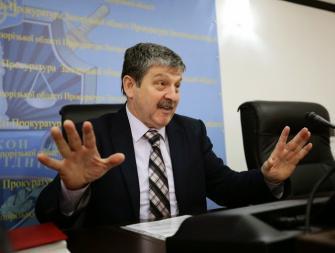 Прокурор области: область на первом месте по криминогенной ситуации в стране