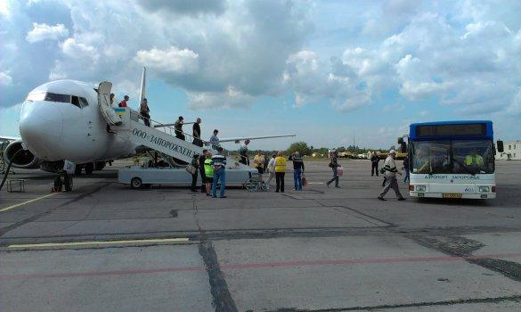 В мэрии верят, что трехзвездочный отель и миллиард гривен сделают запорожский аэропорт привлекательным