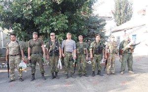 Бердянские солдаты задержали в зоне АТО коректировщицу огня