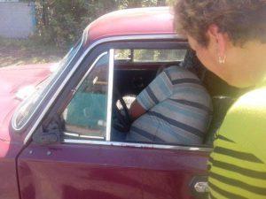 В Запорожской области водитель сбил пешехода насмерть и уснул на месте происшествия