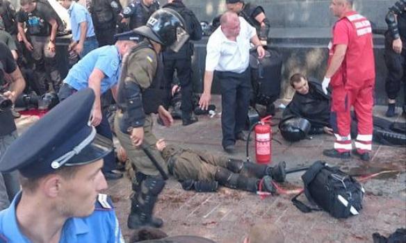 В сеть выложили видео взрыва под Радой