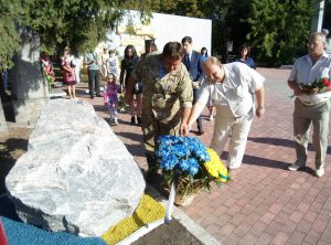 В память о погибших в АТО бойцах в области появится памятник Героям