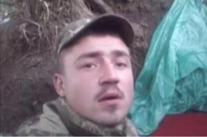 Солдат АТО снял видео того, как его накрыло взрывной волной