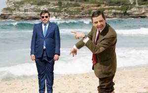 В сети появились фотожабы на костюм Саакашвили