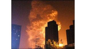 В сеть начали выкладывать видео, как взрывался порт в Китае