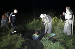 В Пологах бойцы ГСЧС спасли животное из западни
