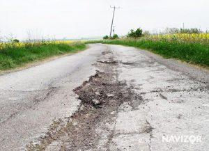 Топ-10 самых худших дорог в Запорожской области