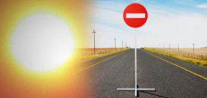 Запорожские дороги ремонтируют в адскую жару