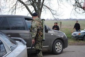 Военный из Одесской области вез в Запорожье гранатомет