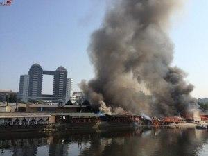Запорожские спасатели показали, как тушили «Кефир»