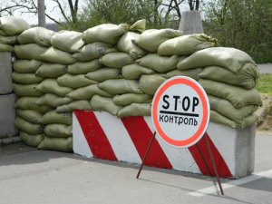 Военные пытались провезти оружие в Запорожскую область