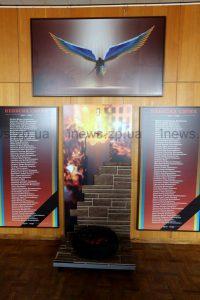 В Запорожской ОГА открылась выставка «Небесная сотня. Герои не умирают!»