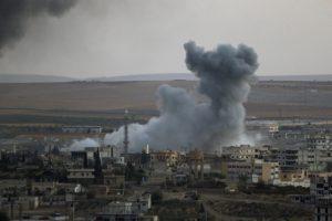 Минобороны РФ показало видео авиаударов в Сирии