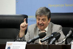 Запорожский прокурор рассказал, что думает о взрыве в