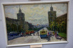 Запорожские художники показали, каким видят город