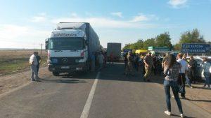 Второй день блокады Крыма в фото и видео
