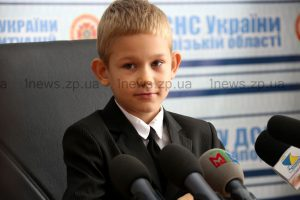 Как семилетний мальчик из Запорожской области стал героем