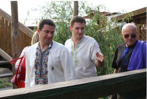Запорожский губернатор показал, как «зеленый туризм» изучал