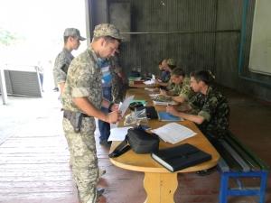 Как в Запорожье проходят сборы стрелкового батальона