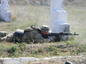 Как запорожских бойцов стрелять учили