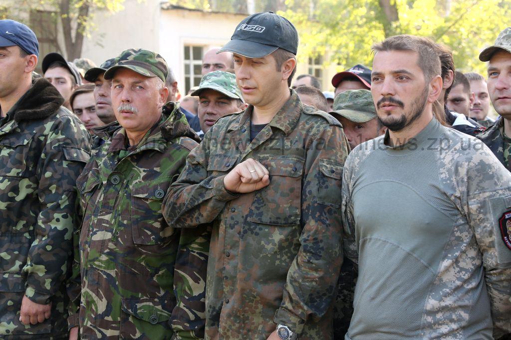Готовность №1: запорожские бойцы проявили себя на учениях