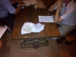 Генпрокуратура показала, как задерживала бердянского судью на взятке