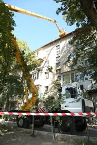 Для мелитопольских коммунальщиков купили 28-метровую автовышку за 2,5 млн грн