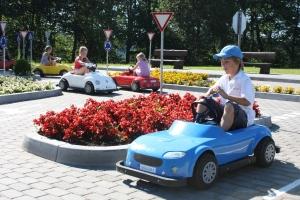 В запорожской «Дубовке» появилась детская автошкола