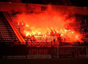 Запорожцы публикуют в сети фото с призывом сохранить ФК