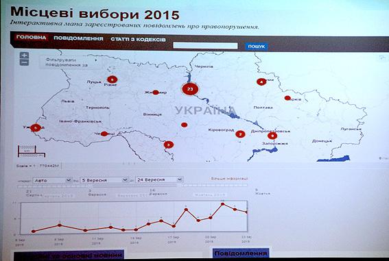 Правонарушения на запорожских избирательных участках можно будет отследить онлайн