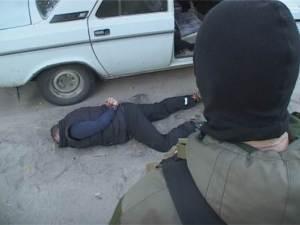 СБУ выложила видео задержания террористов «ЛНР» в Днепропетровске