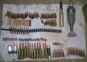 Житель Запорожской области хранил дома гранаты и патроны