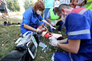 Как в Запорожье соревновались медики скорой помощи