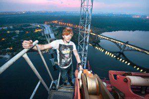 Запорожский фотограф-руфер об экстриме, паркуре и самой высокой точке