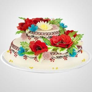 Сюрприз от власти:  Вышиванка в виде торта весом в четверть тонны
