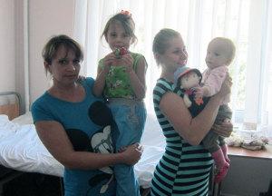 В запорожской больнице спасли жизнь троих детей с пороком сердца